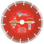Алмазный диск 1A1RSS 200×2.3x10x22.23 мм Segment Trio Diamond